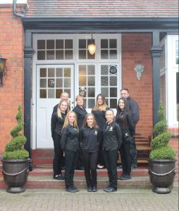 the staff at grimscote manor hotel