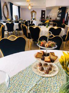 Dining at Grimscote Manor
